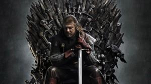 game of throne, Нед Старк на железном троне