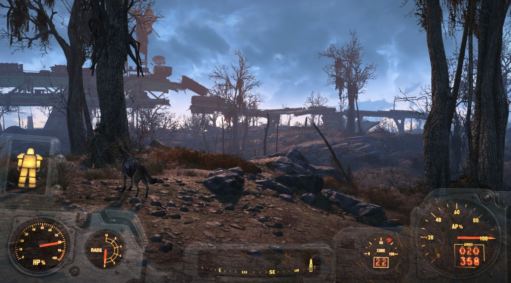 Fallout 4 regular view