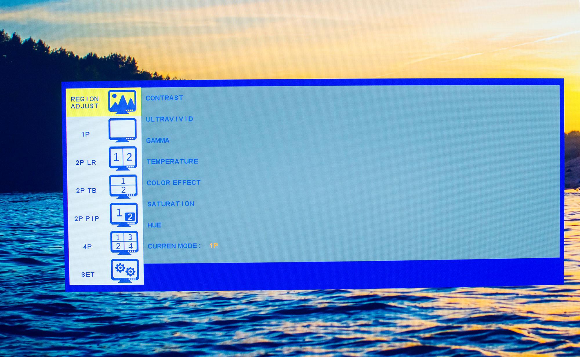 OSD - multi input